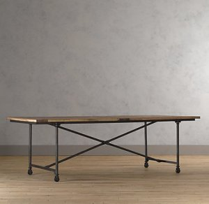 Restoration Hardware Flatiron Table