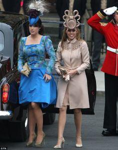 Princesses Eugenie and Beatrice of York